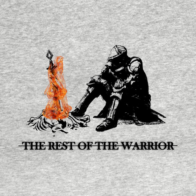 The rest of the warrior